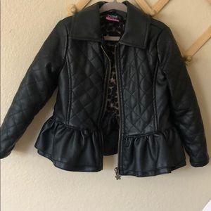 peplum jacket